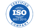ISO 9001:20015 Certified